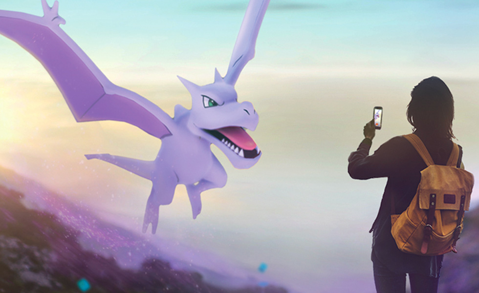 Pokemon GO Evenement Roche