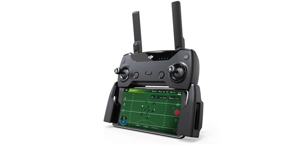La télécommande du DJI Spark
