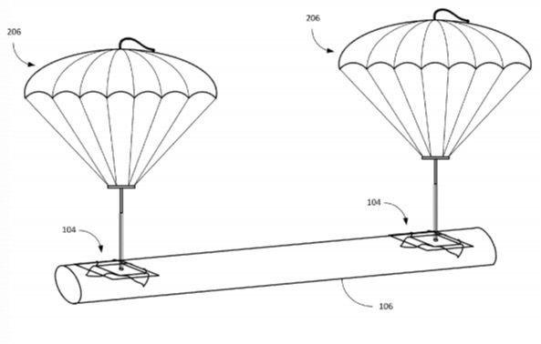 brevet parachute amazon