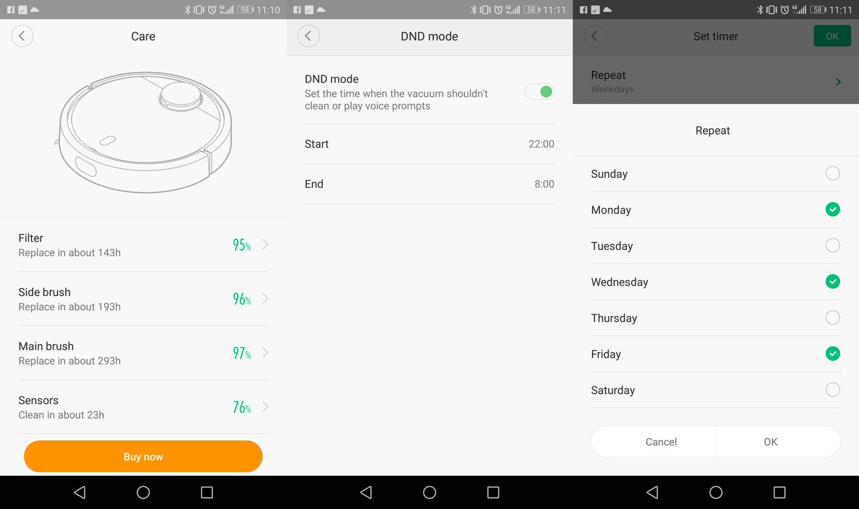 Entretien aspirateur Robot Xiaomi