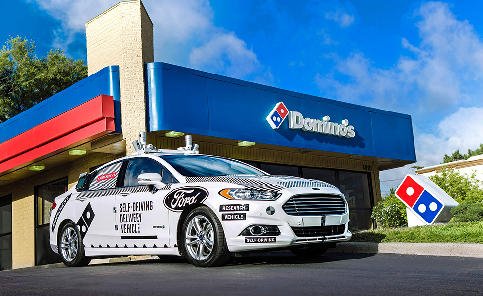 Dominos Voiture Autonome