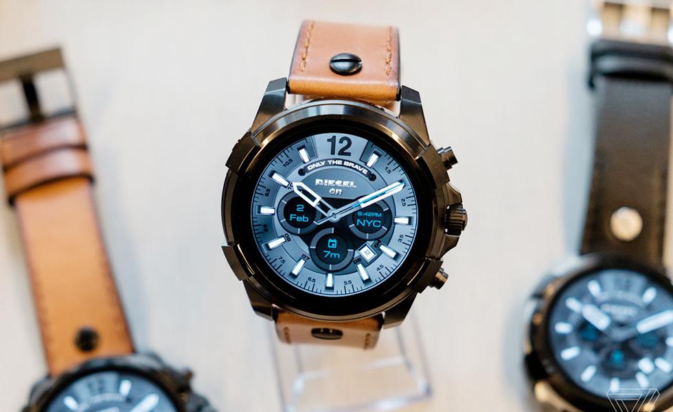 la nouvelle collection de montres connect es de diesel pr sent e l 39 ifa 2017. Black Bedroom Furniture Sets. Home Design Ideas