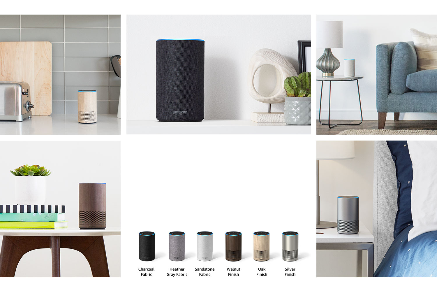 Amazon Echo Couleurs