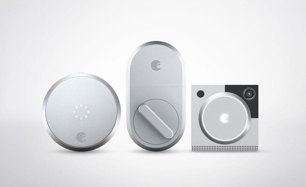 august annonce de nouvelles serrures connect es et un interphone. Black Bedroom Furniture Sets. Home Design Ideas