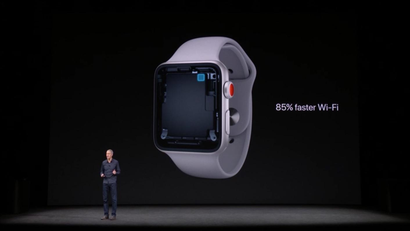 Wi-Fi Apple Watch Series 3