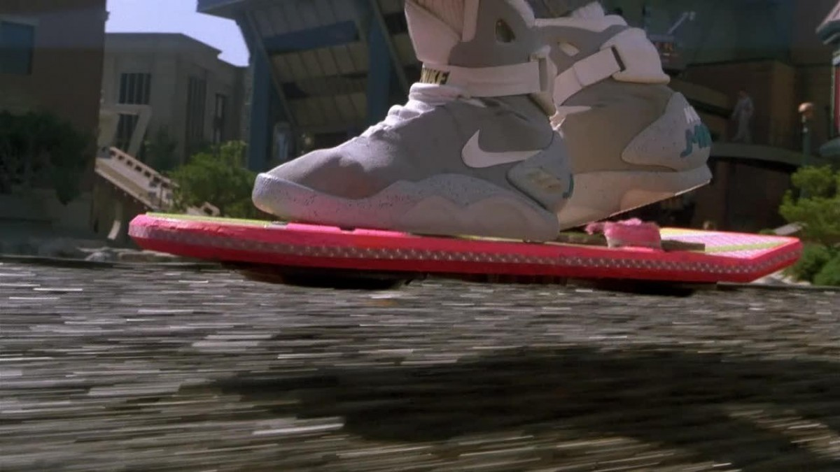 film Retour vers le futur transport hoverboard