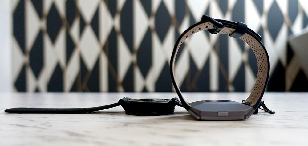 Capteur cardiaque Garmin Vivoactive 3 Fitbit Ionic