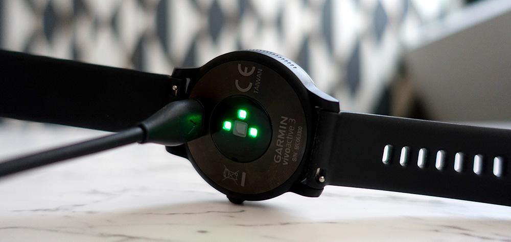 Chargeur Garmin Vivoactive 3