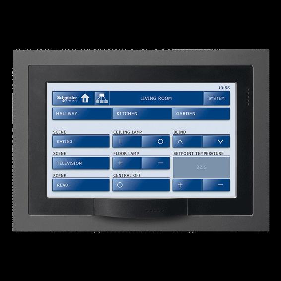 application de gestion de l'énergie KNX de Schneider Electric