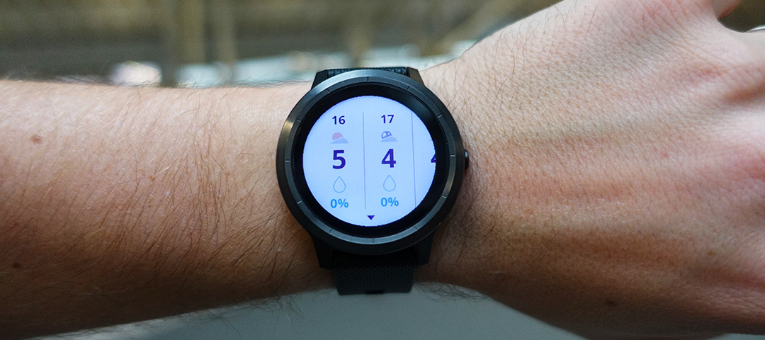 test de la garmin vivoactive 3 une montre connect e du quotidien. Black Bedroom Furniture Sets. Home Design Ideas