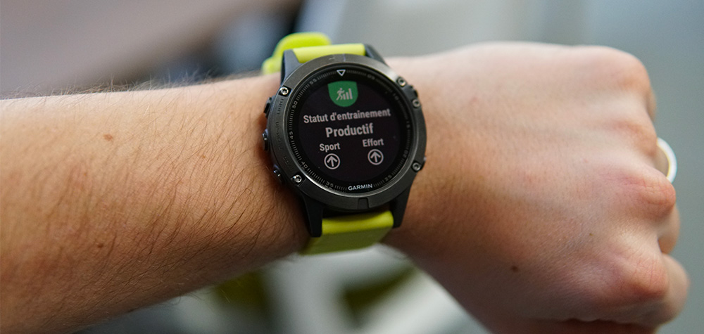 test de la garmin f nix 5 la montre gps ultime. Black Bedroom Furniture Sets. Home Design Ideas