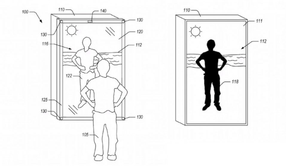 Amazon brevet miroir