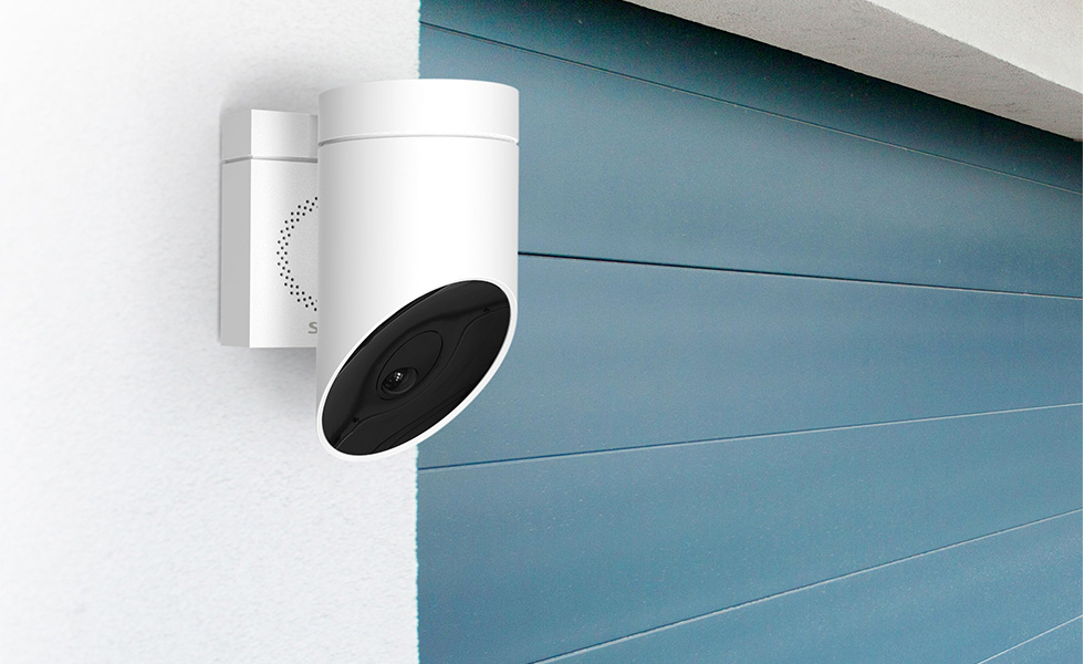 Somfy Outdoor Camera, un système intelligent qui fait fuir les intrus