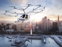 Volocopter taxi volant