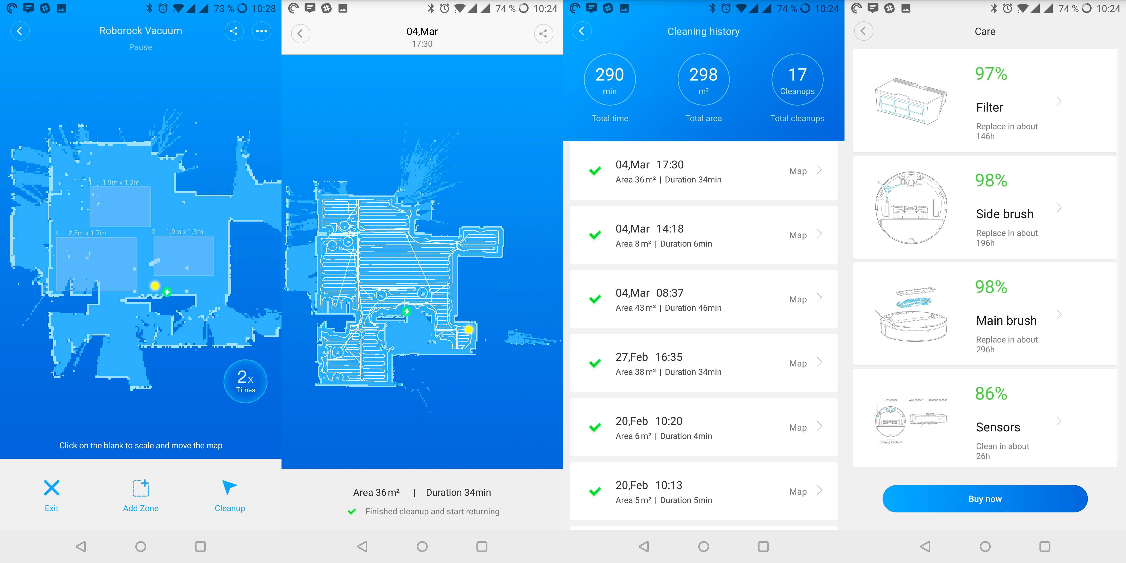 App Xiaomi Aspirateur
