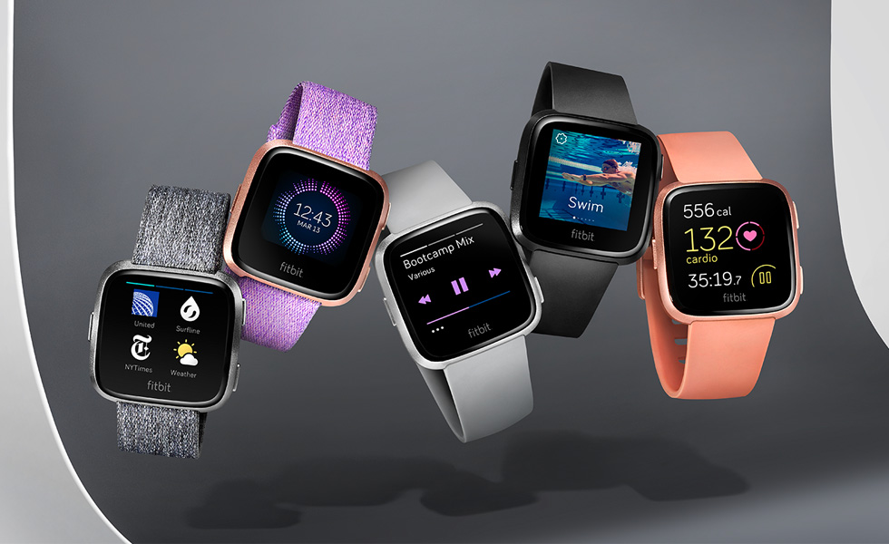 fitbit versa les premiers avis sont positifs. Black Bedroom Furniture Sets. Home Design Ideas