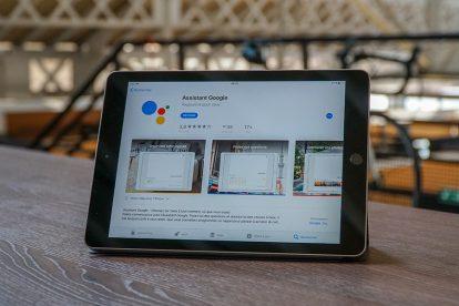 Google Assistant iPad