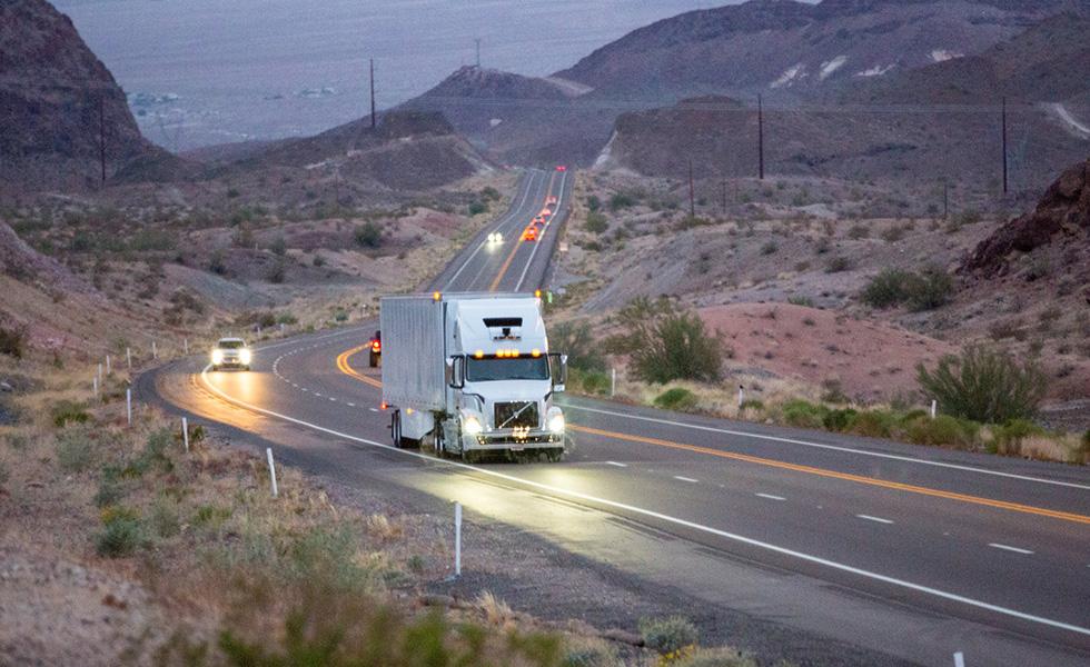 Uber : les camions autonomes entrent en service pour les clients d'Uber Freight