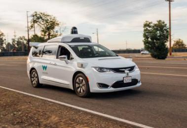 voitures autonomes Waymo