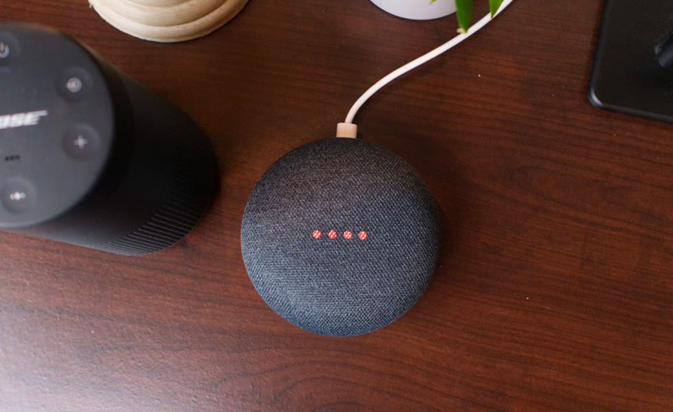 Google Home Mini Bose Revolve startups
