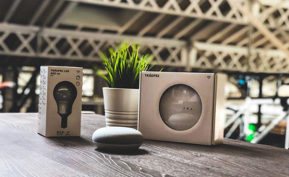 les ampoules ikea d sormais compatibles avec google assistant. Black Bedroom Furniture Sets. Home Design Ideas