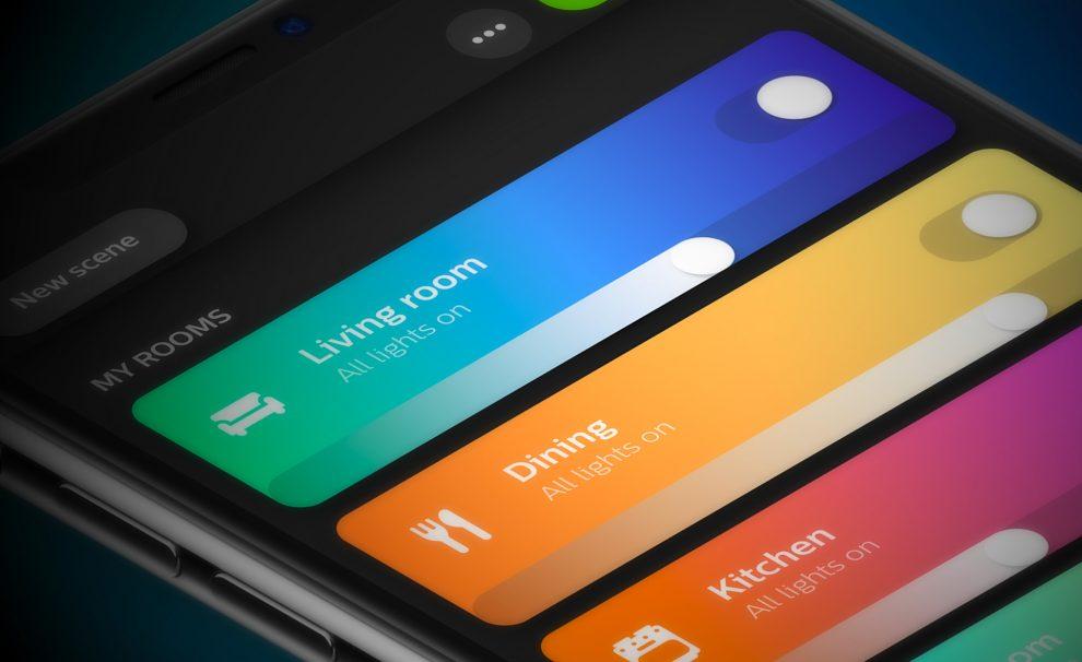 Philips Hue Nouvelle App