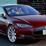 Tesla voiture burn-out