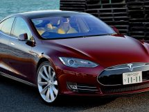Tesla voiture burn-out