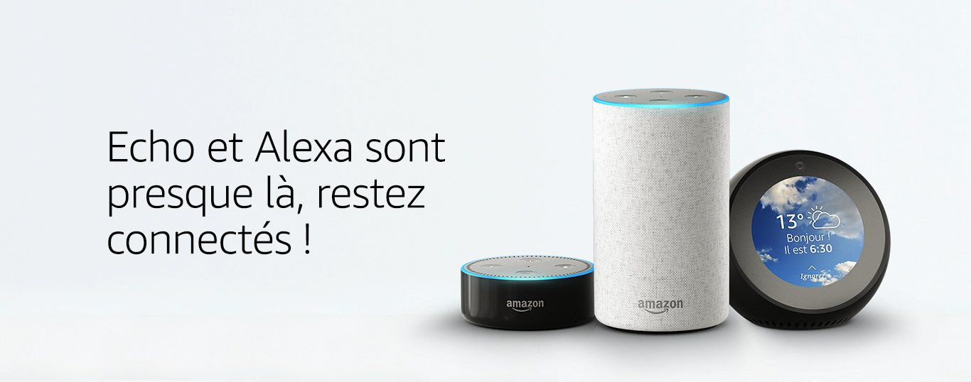 Amazon Echo Dot, Echo et Spot