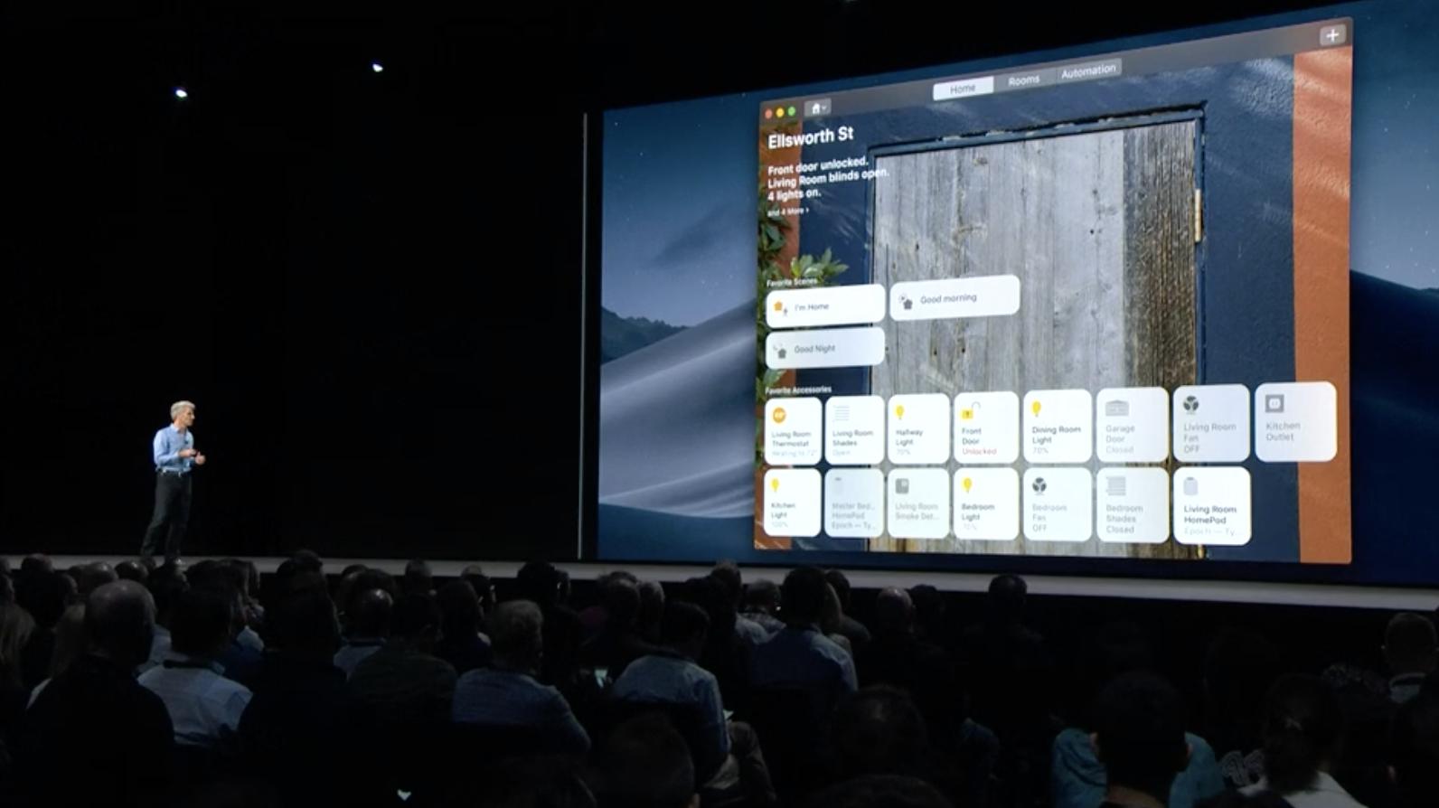 L'application Maison sur le Mac