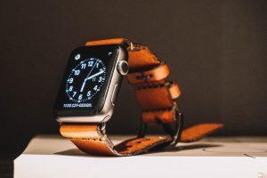 Apple Watch bouton