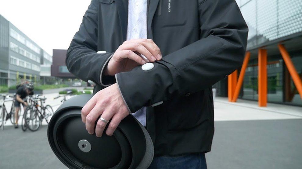 Smart Jacket Ford cyclistes