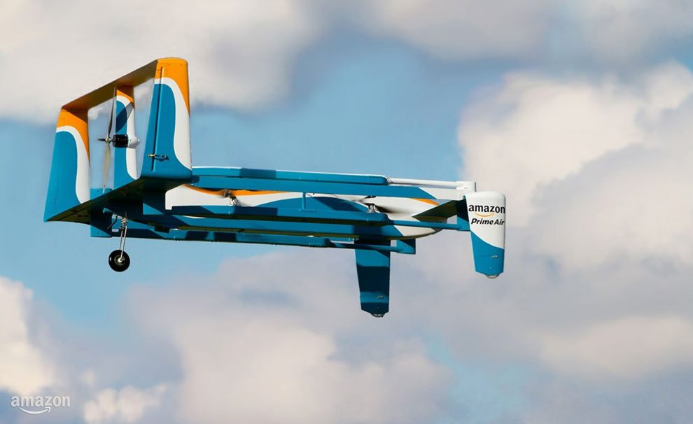 drone Amazon détournement