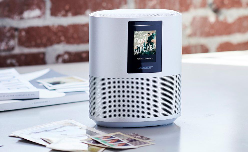 home speaker 500 une nouvelle enceinte bose quip e d 39 alexa. Black Bedroom Furniture Sets. Home Design Ideas