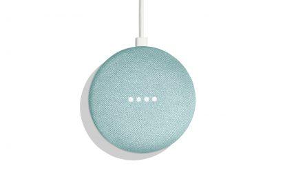 Google Home Mini Aqua