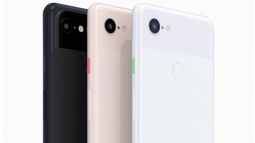 Google Pixel 3 et Pixel 3XL