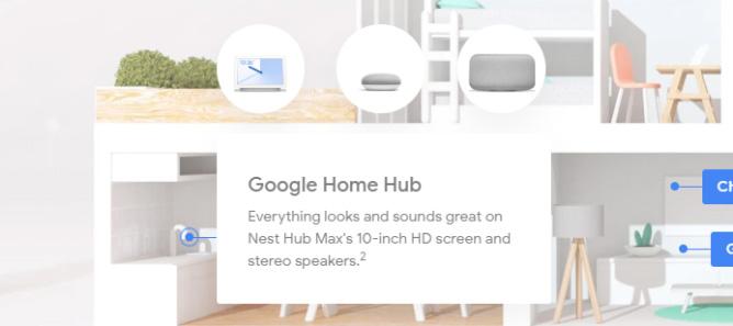 Google Nest Hub Max écran