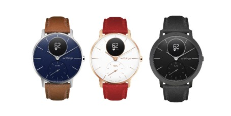 Gamme Withings Sapphire