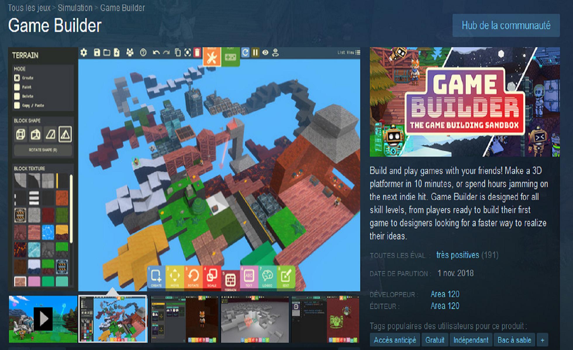 Game Builder, cet outil de Google qui permet aux non-initiés de créer leur jeu vidéo