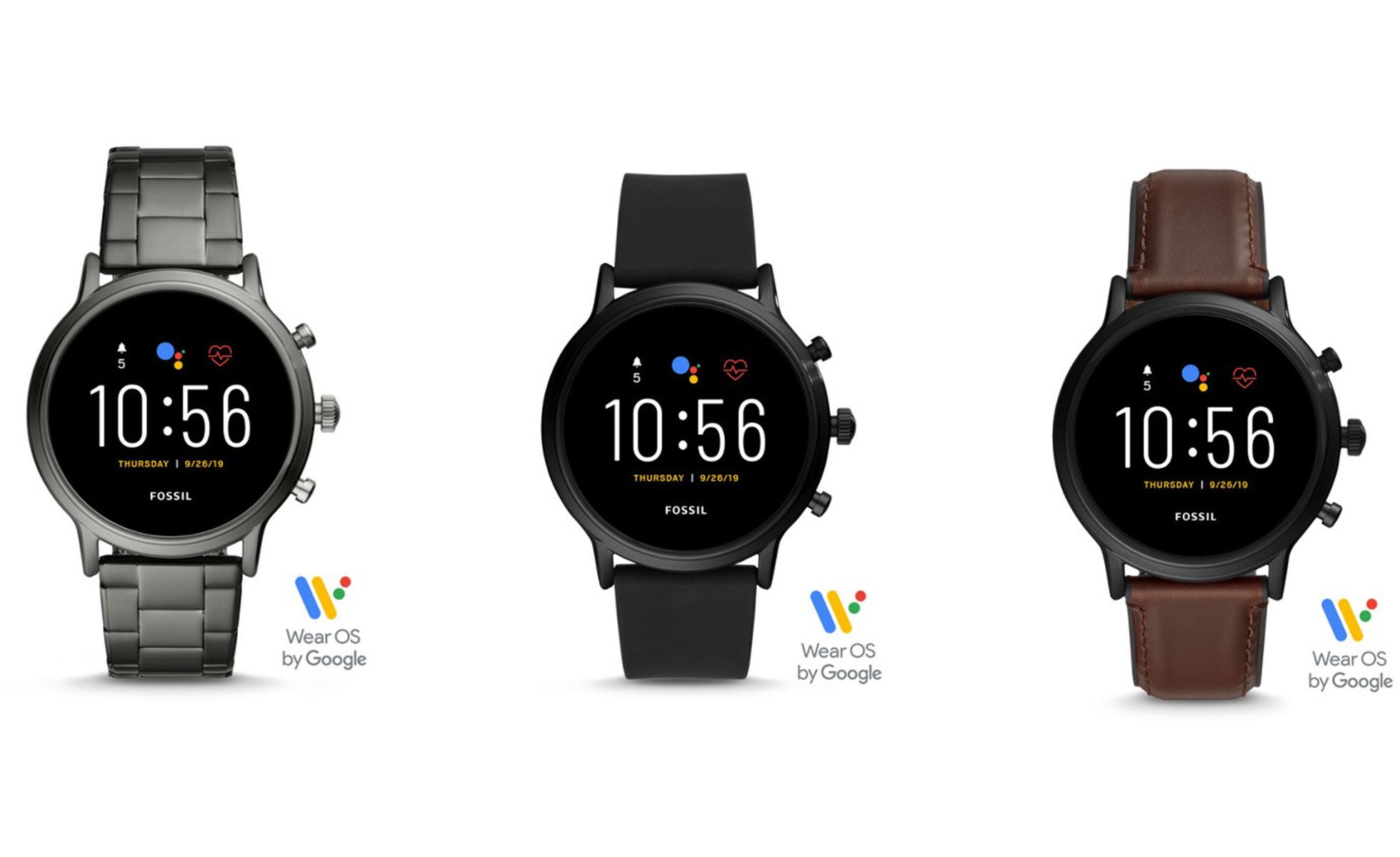 Fossil dévoile Gen 5, une gamme de montres connectées Wear OS