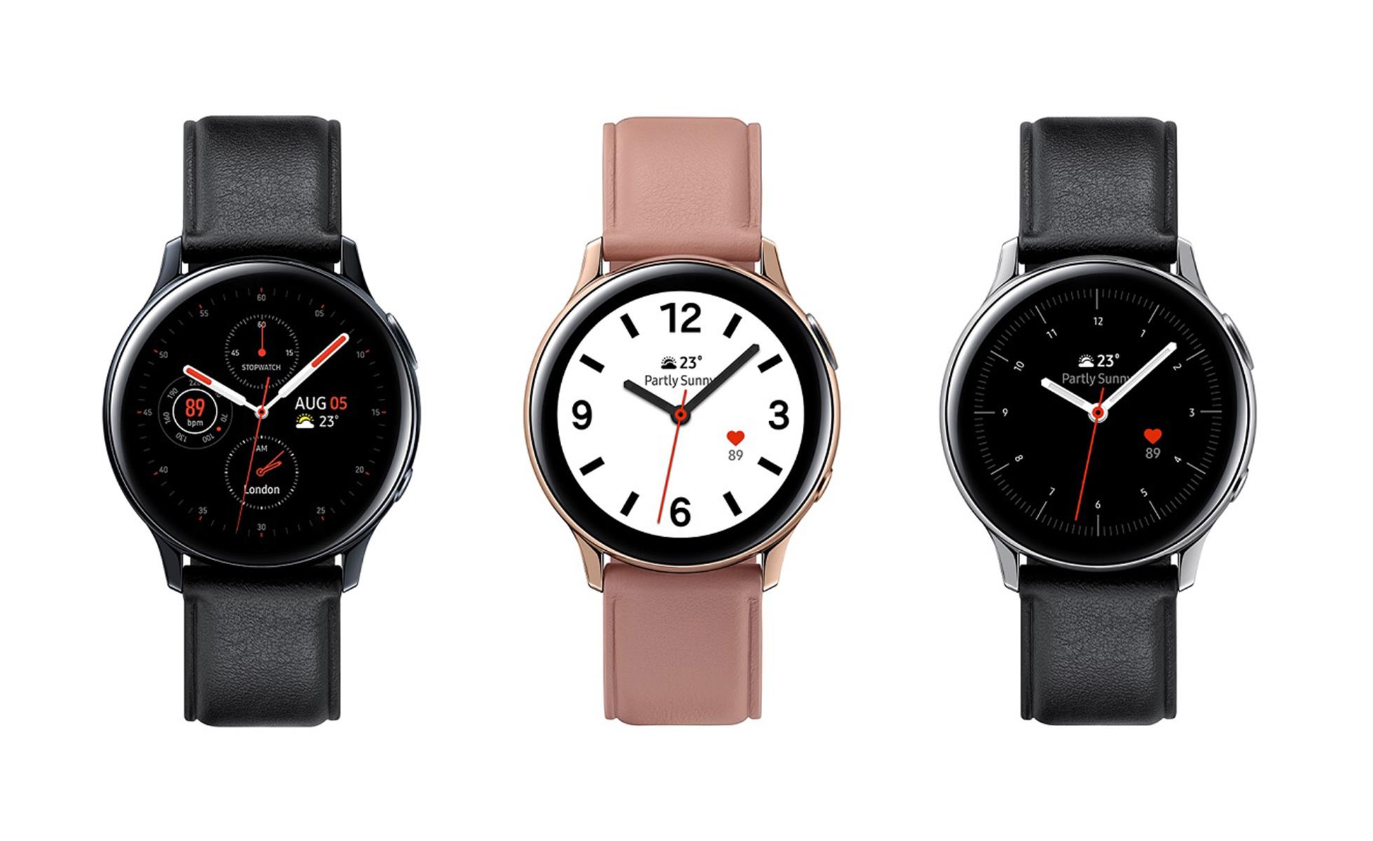 Samsung présente sa Galaxy Watch Active 2, une montre connectée avec ECG