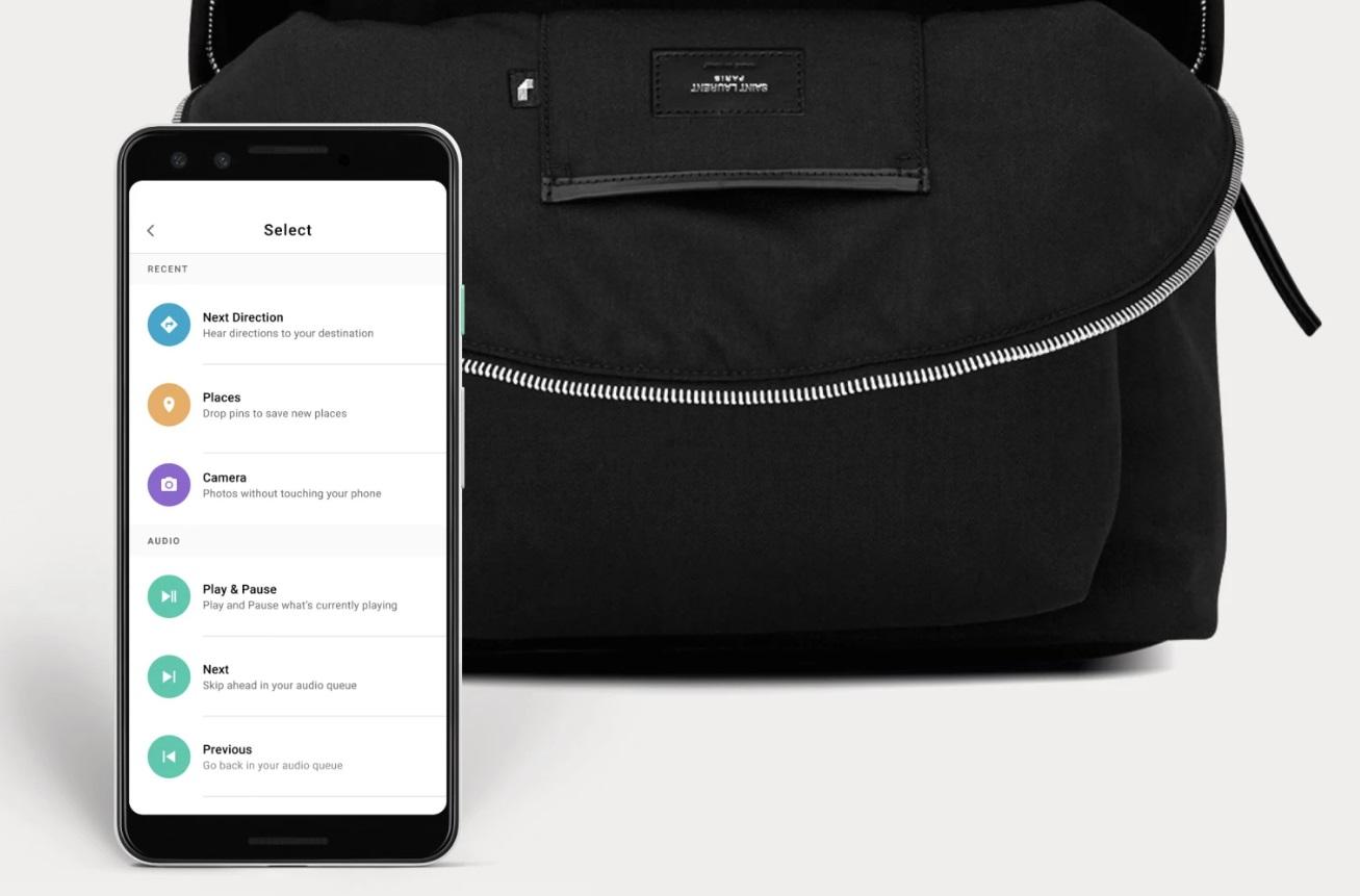 Projet Jacquard : Google n'a pas encore abandonné les vêtements (et les sacs) connectés