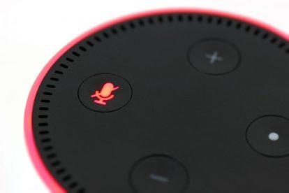 Une enceinte Amazon Echo