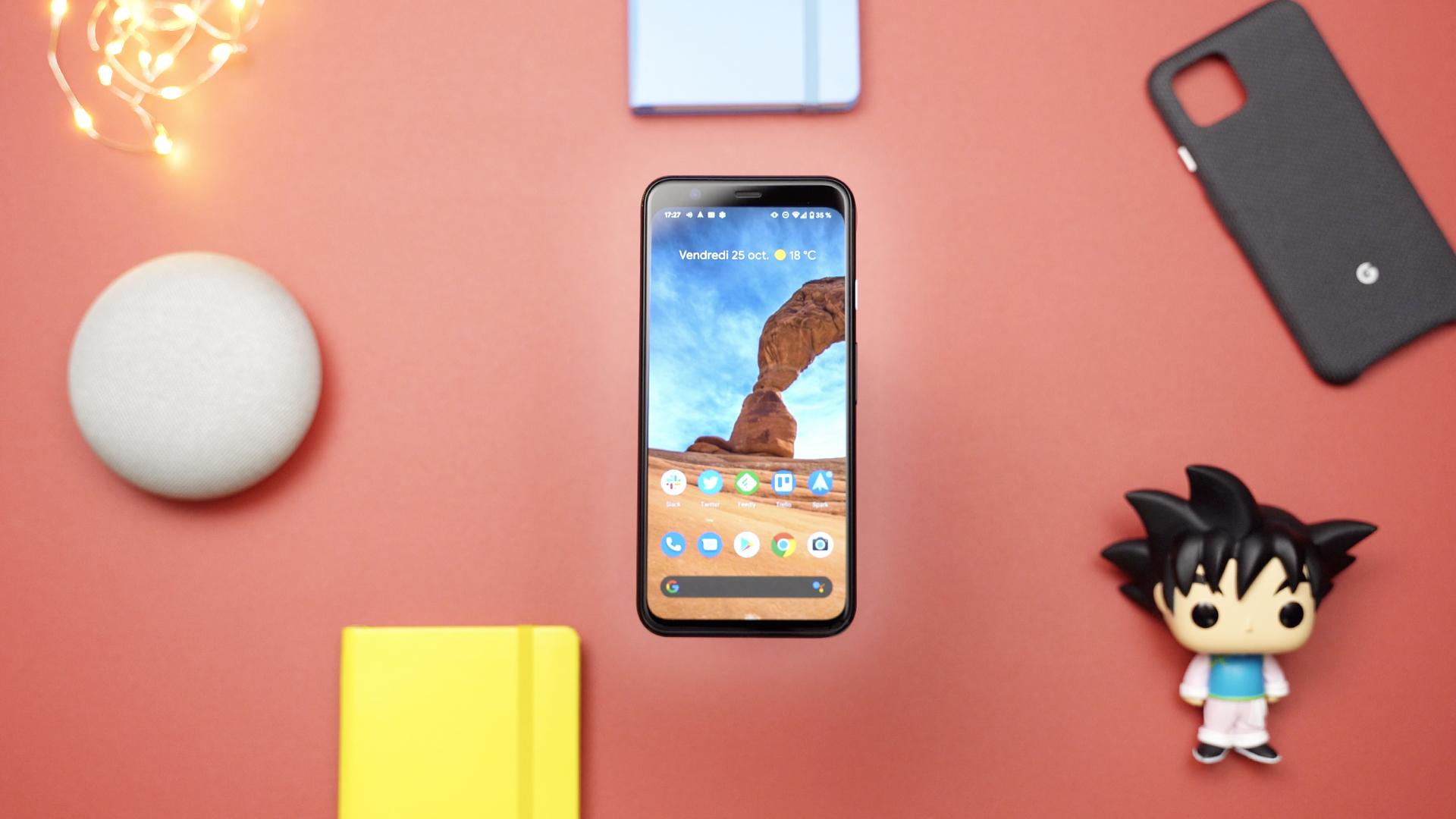 Test du Google Pixel 4 en vidéo