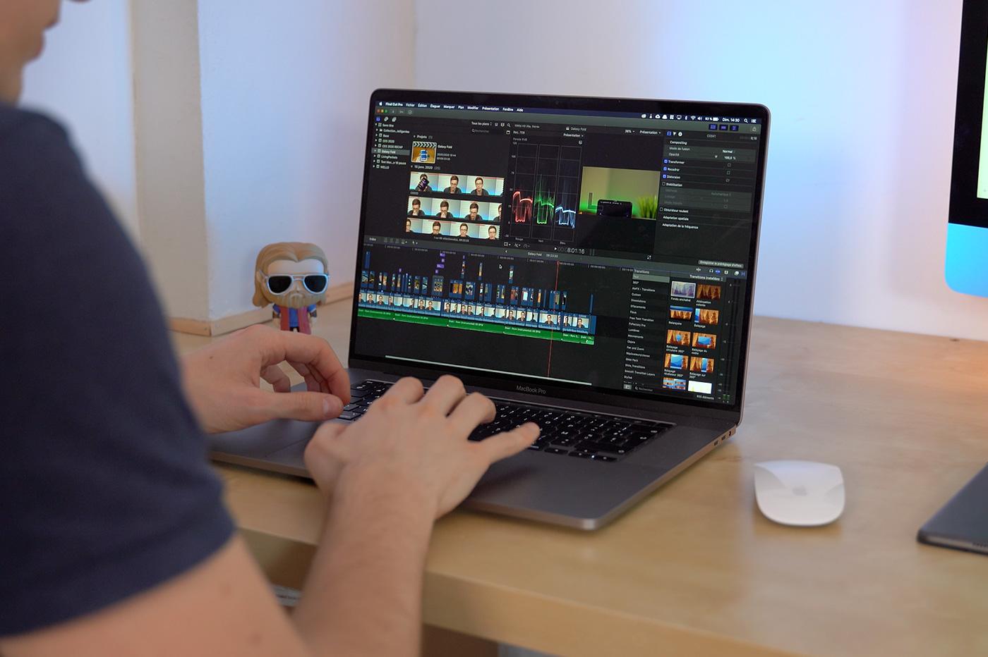 Test du MacBook Pro 16 pouces en vidéo