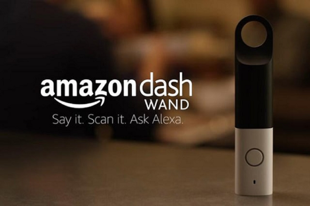 baguette connectée amazon dash wand