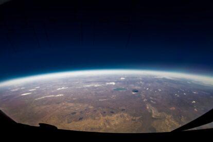 tourisme spatial à bord de ballon stratosphérique