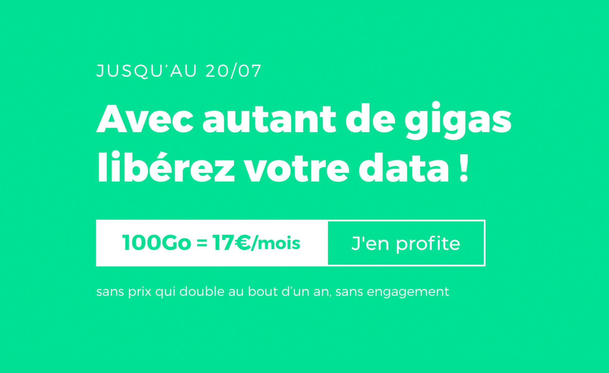 Bon plan : le forfait illimité 80 Go de RED by SFR est en baisse